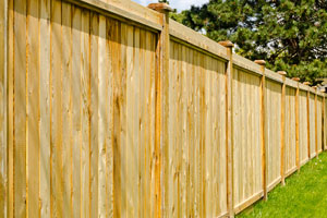 Privacy fence installation in Pittsburgh